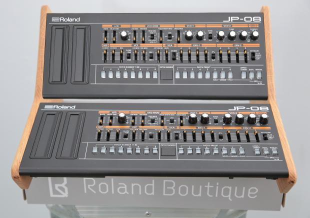 solid european oak dual stand for roland boutique jx03 ju06 jp08 a01 reverb. Black Bedroom Furniture Sets. Home Design Ideas