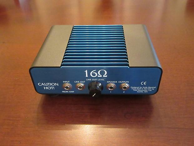 Thd Electronics Hot Plate 16 Ohm Power Attenuator Blue