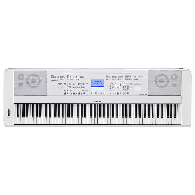 Yamaha dgx 660 88 key white digital piano bundle reverb for Yamaha dgx 660 bundle