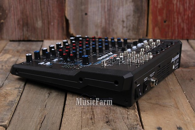 alesis multimix 8 usb fx 8 channel compact mixer w effects reverb. Black Bedroom Furniture Sets. Home Design Ideas