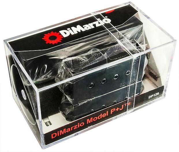 dimarzio dp126 model p j bass guitar neck bridge pickup reverb. Black Bedroom Furniture Sets. Home Design Ideas