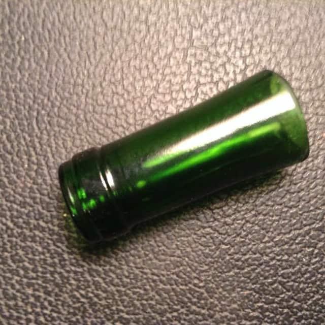 Bottle Neck Glass Guitar Slide image