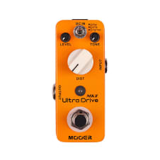Mooer Ultra Drive Mkii Classic Distortion W/ 3 Modes, Original/Extra/Ultra image