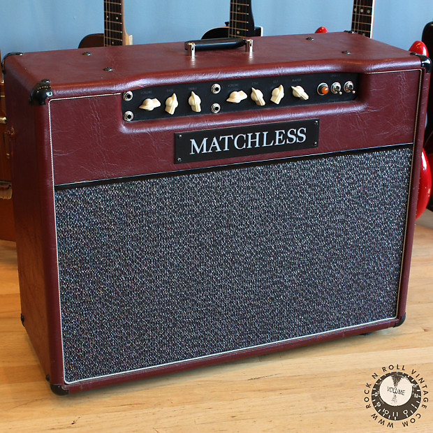 Matchless DC-30 Combo Amplifier 1993 Burgundy | Reverb