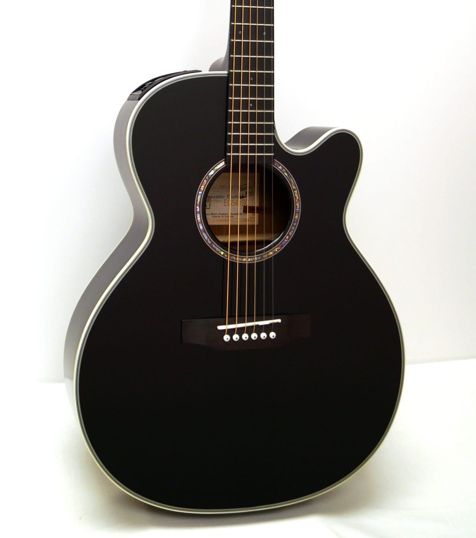 takamine eg541sc nex cutaway acoustic electric guitar black reverb. Black Bedroom Furniture Sets. Home Design Ideas