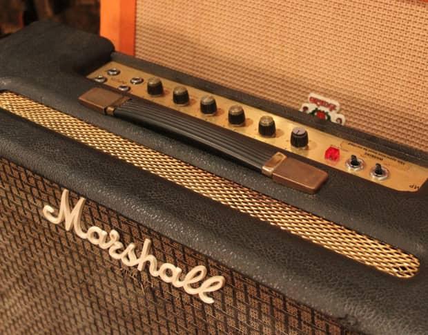 vintage 1975 marshall lead bass 50 2x12 combo amp reverb. Black Bedroom Furniture Sets. Home Design Ideas