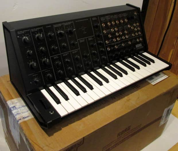korg ms 20 mini monophonic analog synthesizer b stock with reverb. Black Bedroom Furniture Sets. Home Design Ideas