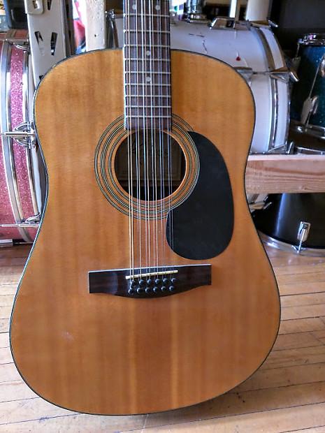 antares tw 34j 12 string acoustic guitar used reverb. Black Bedroom Furniture Sets. Home Design Ideas