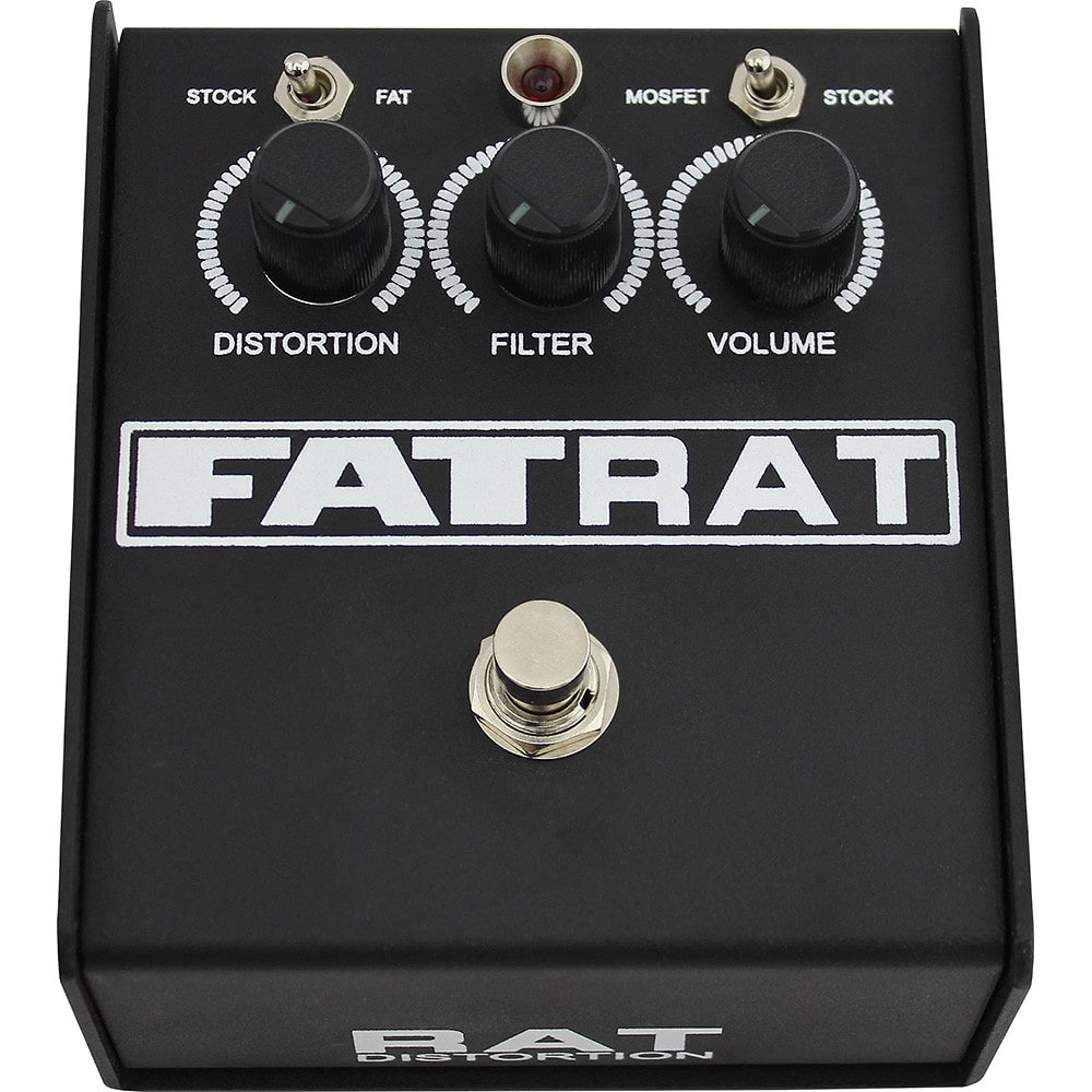 proco fat rat distortion pedal w vintage and mosfet clipping reverb. Black Bedroom Furniture Sets. Home Design Ideas