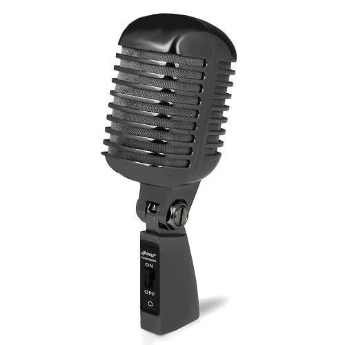 Classic retro vintage style dynamic vocal microphone with for Classic house vocals acapella