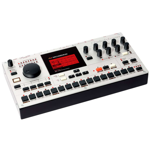 elektron machinedrum drum synthesizer sequencer reverb. Black Bedroom Furniture Sets. Home Design Ideas