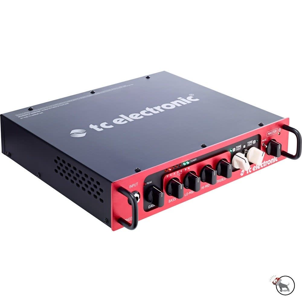 TC Electronic BH800 TonePrint Enabled 800-Watt Bass Amplifier Head