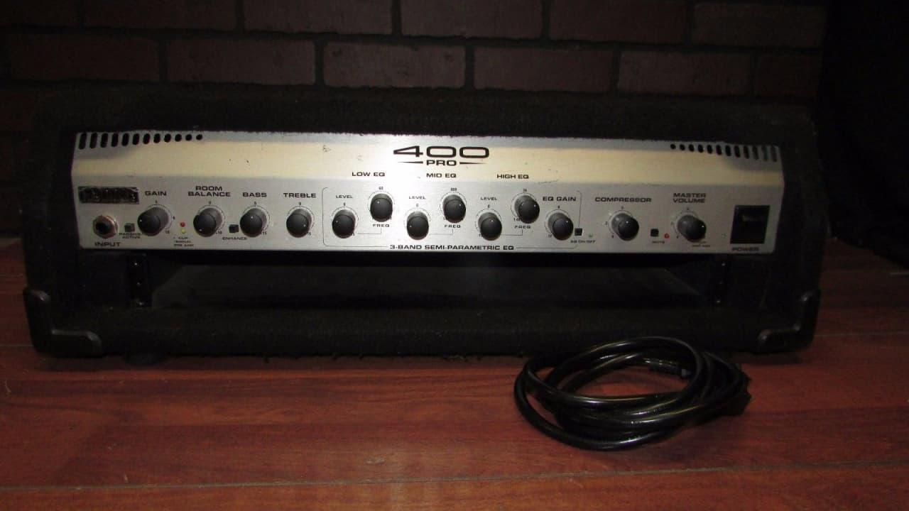 fender 400 pro bass guitar amplifier head amp reverb. Black Bedroom Furniture Sets. Home Design Ideas