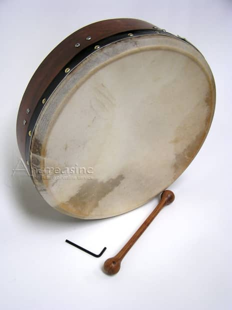 how to play a bodhran drum