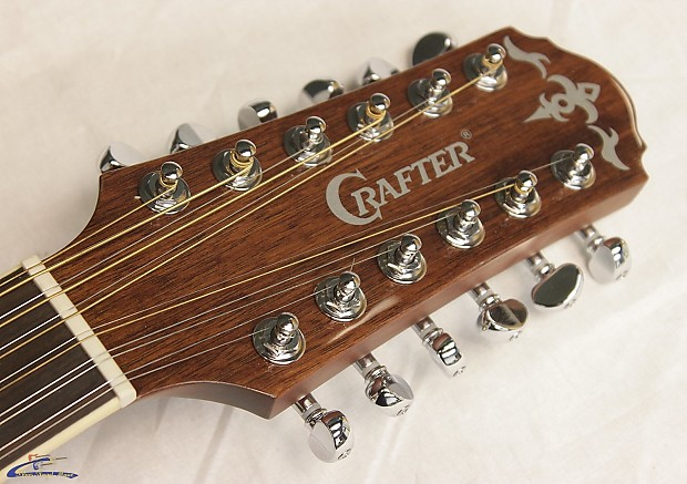 crafter md 50 12 12 string acoustic guitar brand new reverb. Black Bedroom Furniture Sets. Home Design Ideas