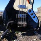 "Electra Jazz ""Long Necker"" Bass No. 2273 1970's Jet Black image"
