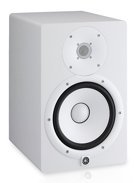 Yamaha hs8 w powered studio 8 monitor 120w amplified for Yamaha powered speakers review