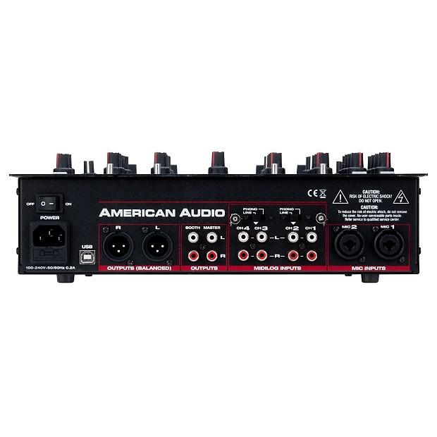 american audio 14 mxr midi analog dj mixer controller reverb. Black Bedroom Furniture Sets. Home Design Ideas