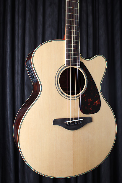 Yamaha fjx730sc solid top acoustic electric guitar for Yamaha solid top