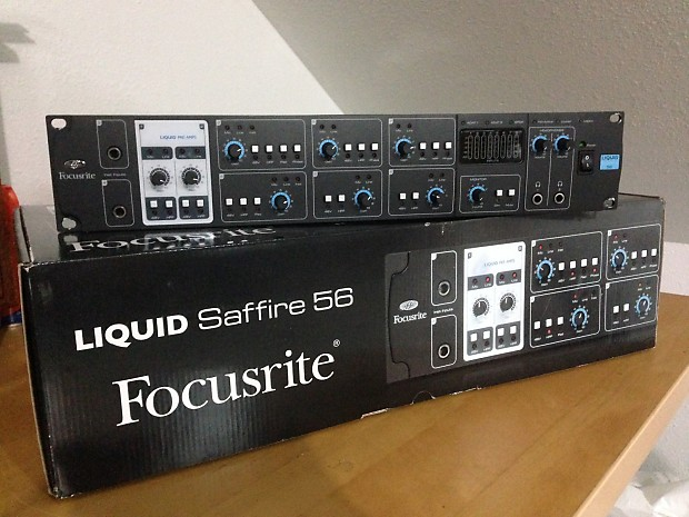 focusrite liquid saffire 56 interface 8chnl snake reverb. Black Bedroom Furniture Sets. Home Design Ideas