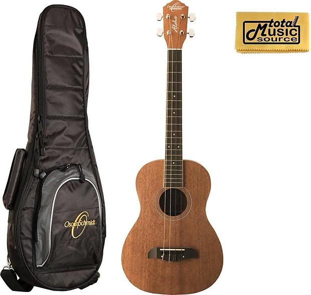 oscar schmidt baritone all mahogany ukulele ou52 includes reverb. Black Bedroom Furniture Sets. Home Design Ideas
