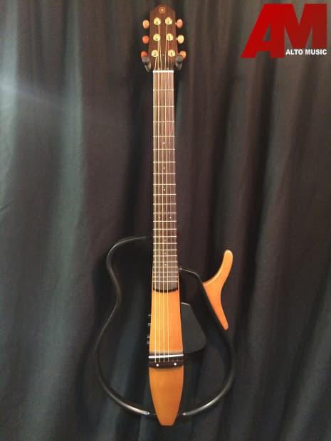 Yamaha slg110s steel string silent guitar reverb for Yamaha slg200s steel string silent guitar