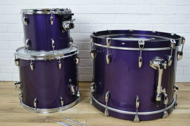 pearl masters custom maple shell drum set kit excellent used reverb. Black Bedroom Furniture Sets. Home Design Ideas