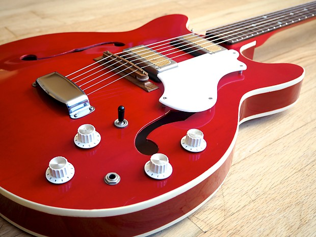 1968 supro croydon s666 vintage electric guitar near mint reverb. Black Bedroom Furniture Sets. Home Design Ideas