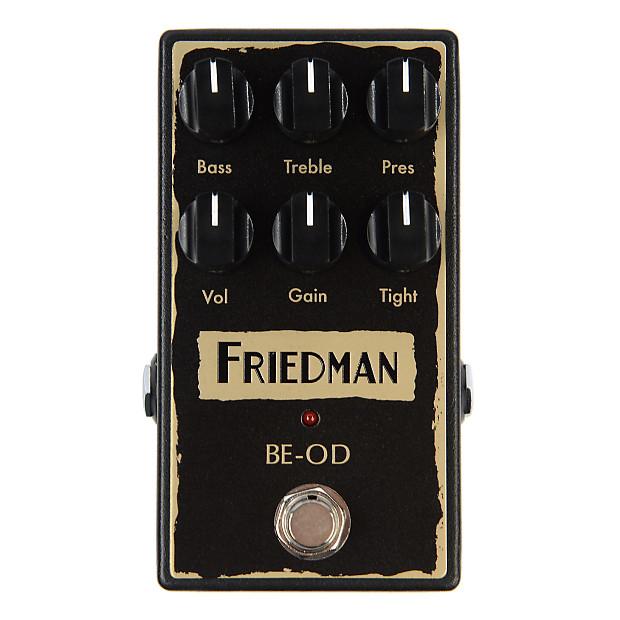 friedman be od overdrive pedal reverb