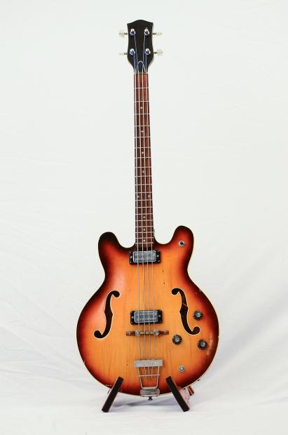 Klira Bass Pickups : klira hollowbody bass 1960s sunburst reverb ~ Vivirlamusica.com Haus und Dekorationen