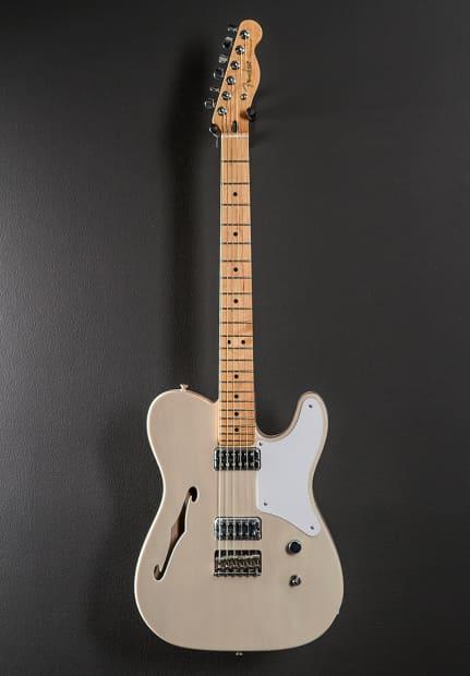 Fender classic player cabronita tele thinline 2013 white for Tattoo shops in la crosse wi