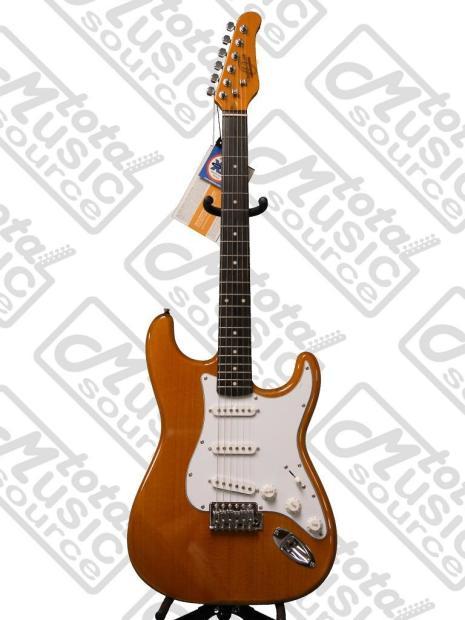 oscar schmidt by washburn double cutaway electric guitar natural os 300 nh reverb. Black Bedroom Furniture Sets. Home Design Ideas