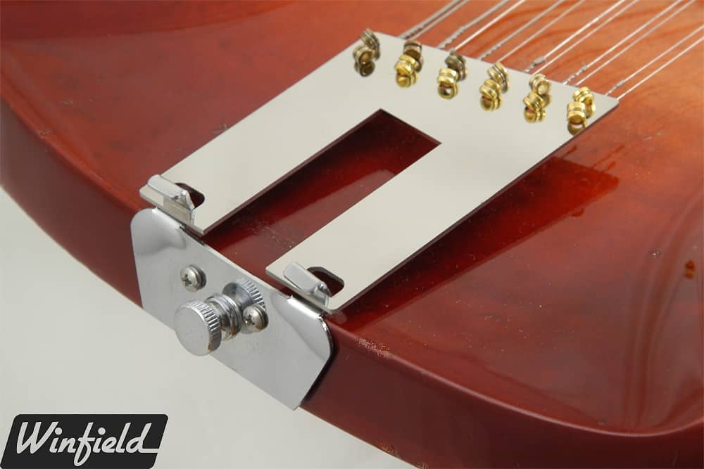 how to change mandolin strings tailpiece