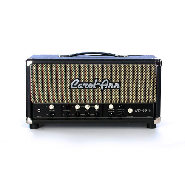 carol ann amps sd 60 head 60 watt 3 channel tube guitar reverb. Black Bedroom Furniture Sets. Home Design Ideas