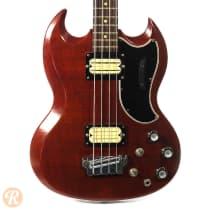 Gibson EB-3 1961 Cherry image