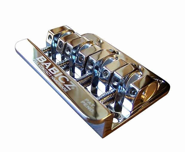 babicz full contact hardware 4 string bass bridge chrome reverb. Black Bedroom Furniture Sets. Home Design Ideas