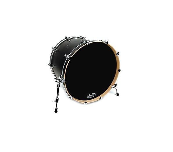 20 evans non level 360 resonant bass drum head black head reverb. Black Bedroom Furniture Sets. Home Design Ideas