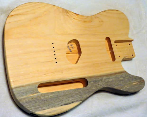 1 piece aged pine telecaster tele body 3lbs 12oz standard reverb. Black Bedroom Furniture Sets. Home Design Ideas