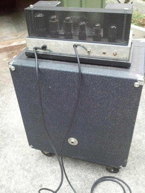 dating vintage ampeg amps