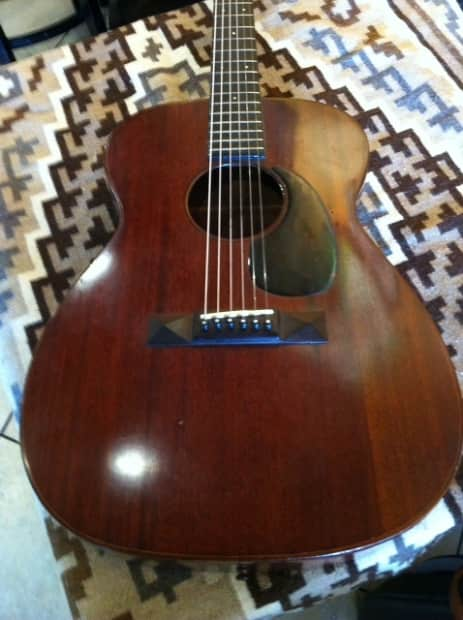 Woody Guthrie S 00 17 Martin Guitar For Sale Reverb