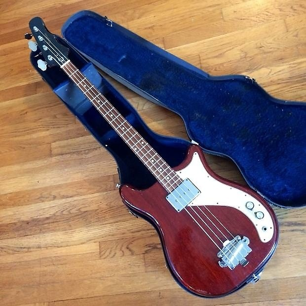 epiphone newport bass guitar 1964 cherry original vintage reverb. Black Bedroom Furniture Sets. Home Design Ideas