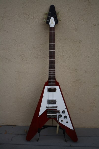 Gibson 67 Historic Flying V 2003 Cherry