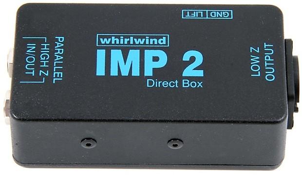 whirlwind imp 2 1 channel passive instrument direct box reverb. Black Bedroom Furniture Sets. Home Design Ideas