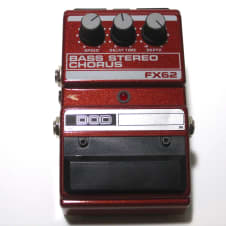 DOD FX 62 Stereo Bass Chorus 1990's Red image