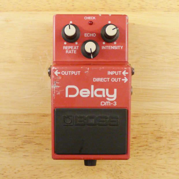 boss dm 3 analog delay made in japan vintage mij guitar reverb. Black Bedroom Furniture Sets. Home Design Ideas