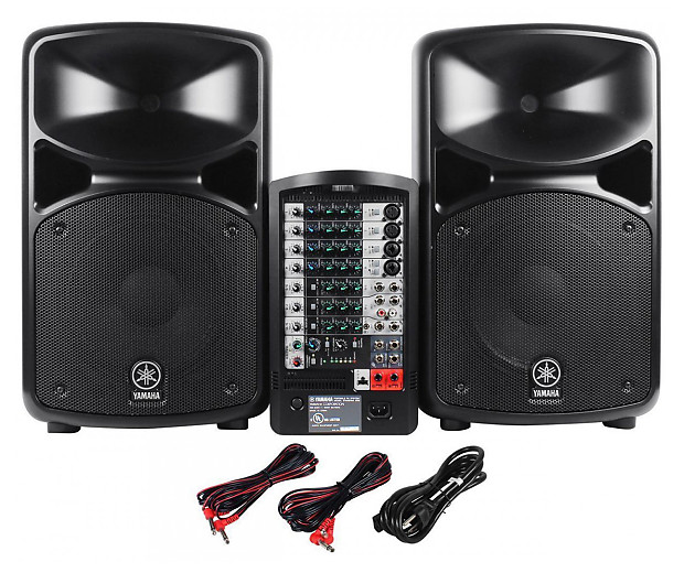 yamaha pro audio stagepas 600i reverb