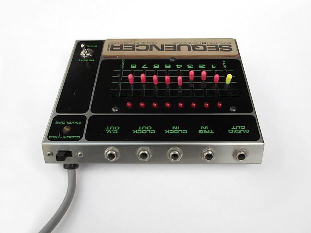 vintage 1980 electro harmonix sequencer drum v2 drum machine reverb. Black Bedroom Furniture Sets. Home Design Ideas