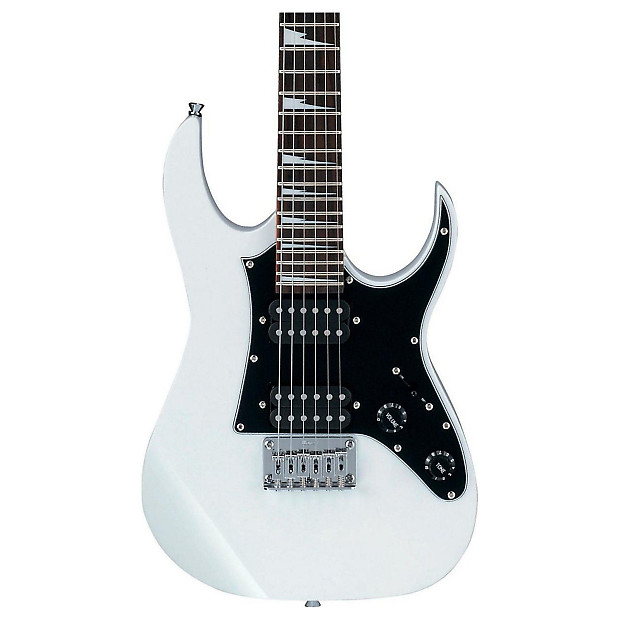 ibanez grgm21 gio mikro mini electric guitar white reverb. Black Bedroom Furniture Sets. Home Design Ideas