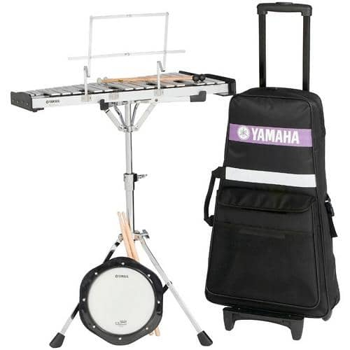 Yamaha student bell kit w rolling backpack case reverb for Yamaha bell kit