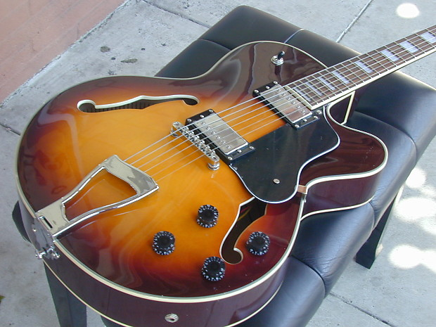 berkeley l5 beauty tone jazz guitar for artistic reverb. Black Bedroom Furniture Sets. Home Design Ideas